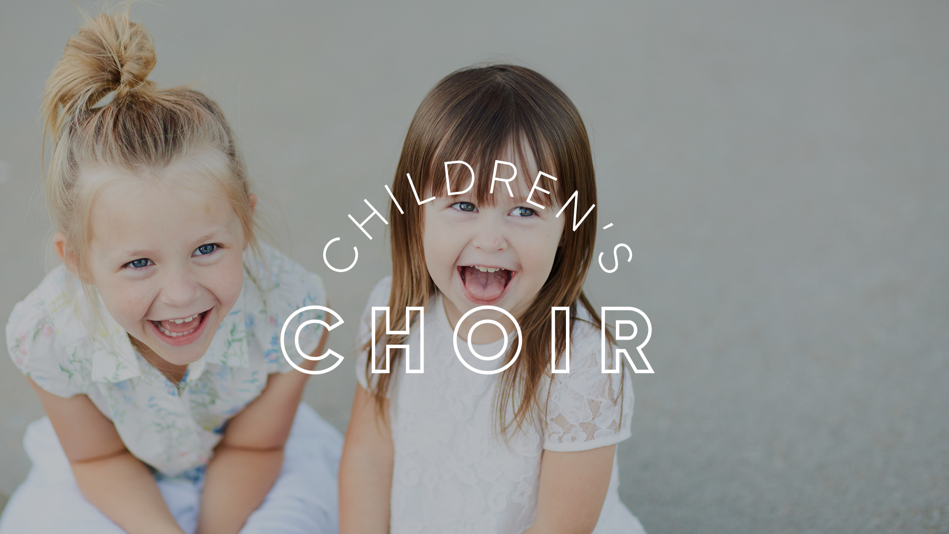 Children's Choir Fall Zoom Gatherings