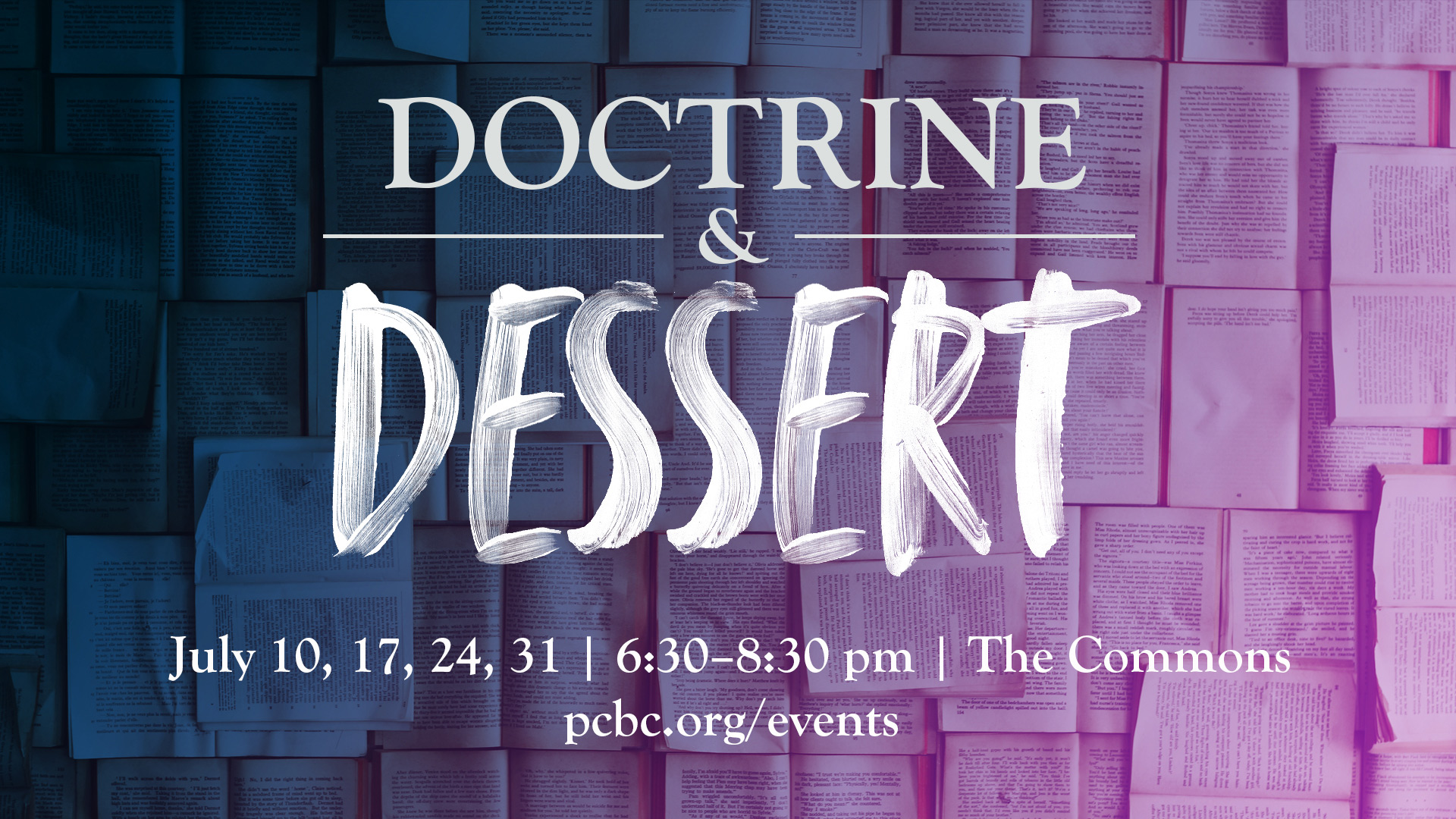 Doctrine & Dessert