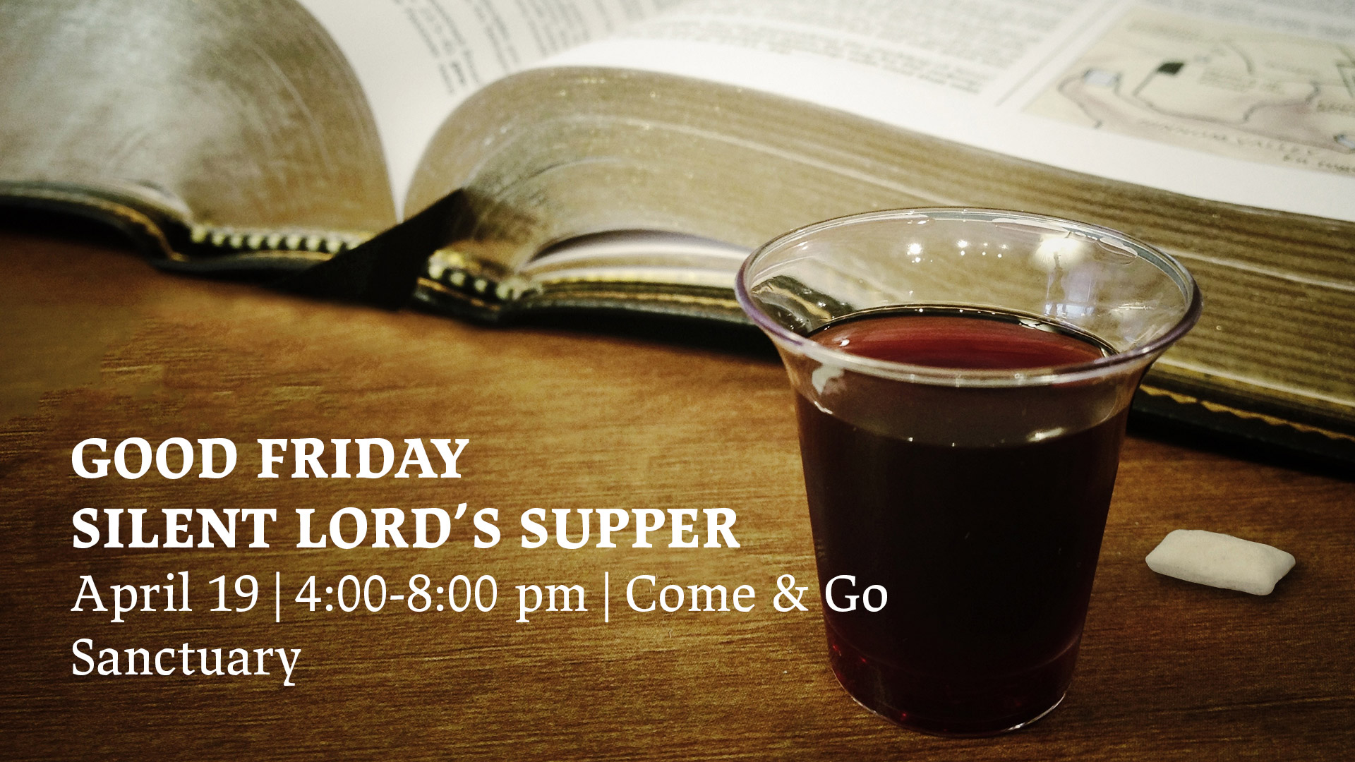 Good Friday Silent Lord's Supper