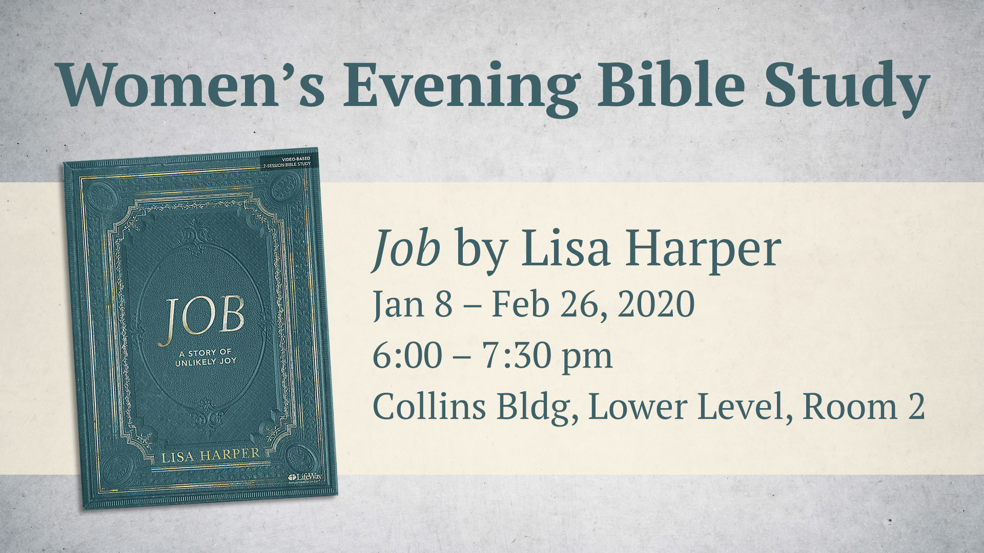 Women's Evening Bible Study