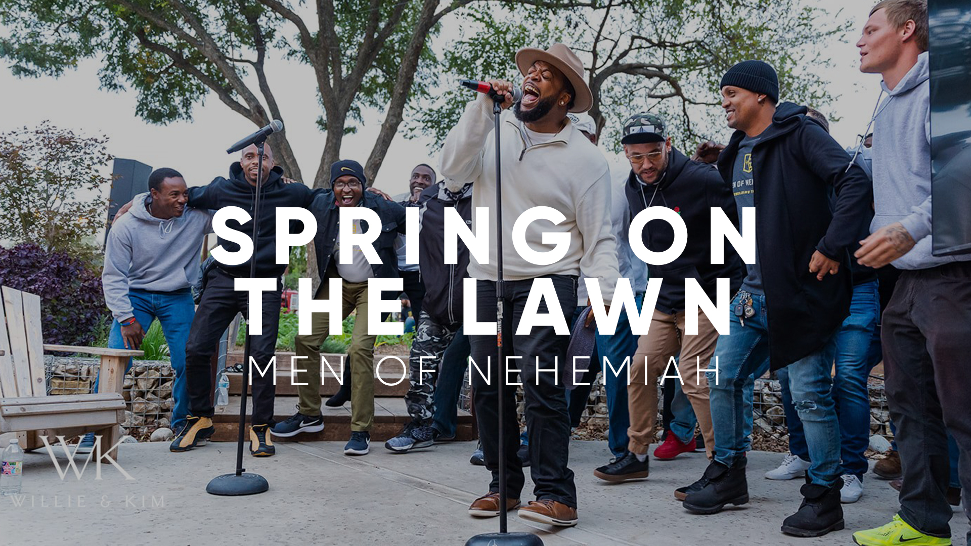Spring on the Lawn: Men of Nehemiah Celebration